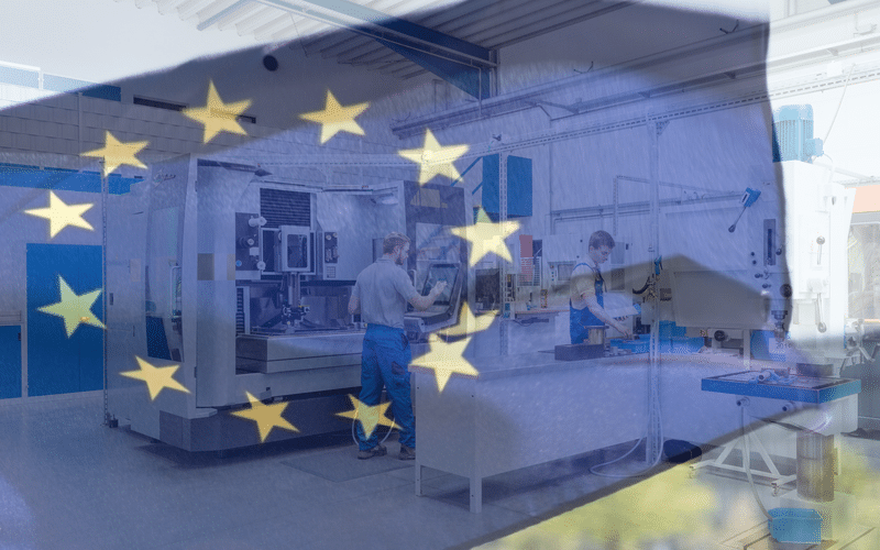 Eurozone Manufacturing Growth Decelerates to Seven-Month Low