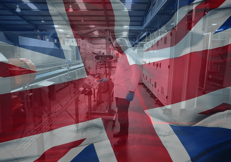 UK Manufacturing Slips to Seven-Month Low in September