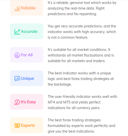 Features of Velocity Finder Neural Trader.